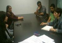 Foto Sesiones de  control de las prácticas con los tutores de la UJI