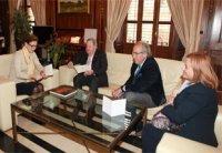 Foto La FUE-UJI se reúne con la alcaldesa de Castellón, Amparo Marco