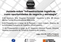 Foto Jornada sobre Infraestructuras logísticas como oportunidades de negocio y estrategia