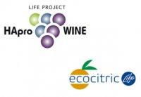 Foto HAproWine y Ecocitric, dos ejemplos de economía circular