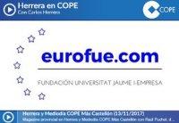 Foto eurofue.com se presenta en la COPE