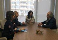 Foto La FUE-UJI visita el Ayuntamiento de Almassora