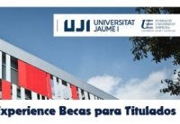 Foto FUE-UJI gestionó 435 becas para titulados en 2018