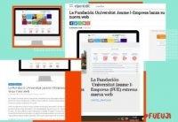 La Fundación Universitat Jaume I-Empresa lanza su nueva web