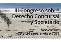 III Congreso de Derecho Concursal y Societario