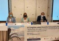 Inauguración III Congreso de Derecho Concursal y Societario