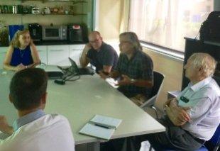 Foto Presentación del Proyecto A-LEAF en el INAM