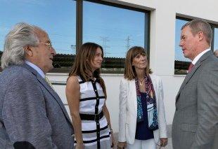 Foto Inauguración nueva planta UBE