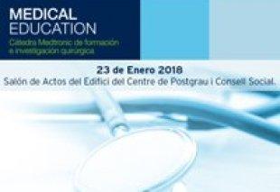 Foto Jornada del Profesorado Clínico. 23 de enero 2018.