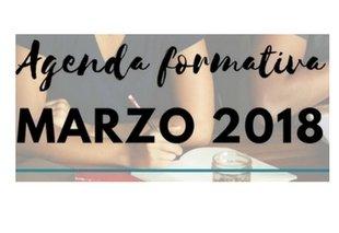 Foto Agenda de cursos marzo 2018