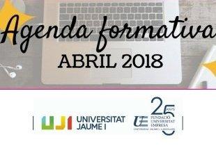 Foto Agenda de cursos abril 2018