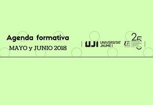 Foto Agenda de cursos mayo y junio 2018