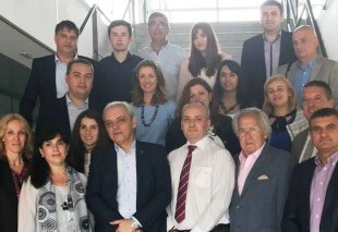 Foto Visita de una delegación de Macedonia