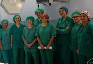 Foto Clausura del curso de instrumentación quirúrgica