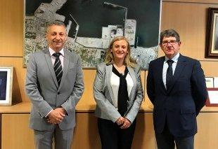 Foto La FUE-UJI visita Port Castelló