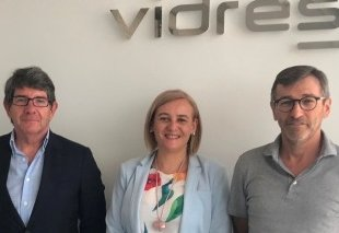 Foto Visitamos la empresa VIDRES
