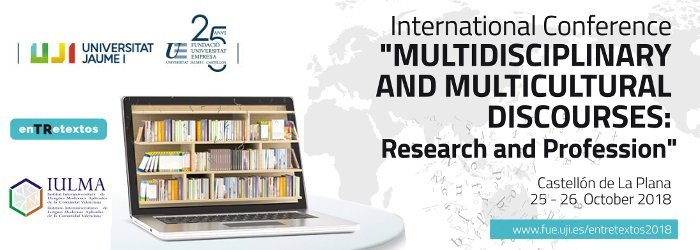 Foto Congreso Int. Entretextos: Multidisciplinary and Multicultural Discourses: Research and Profession