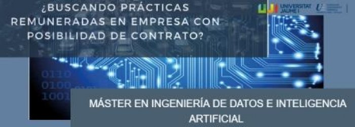 Foto Prácticas remuneradas Máster Ingeniería de Datos e IA
