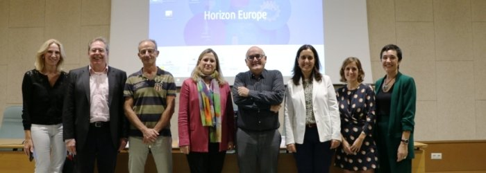 Foto Presentación Programa Marco Horizon Europe