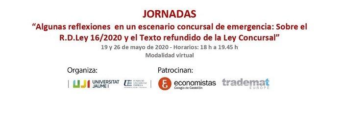 Foto Jornadas virtuales sobre el R.D. Ley 16/2020
